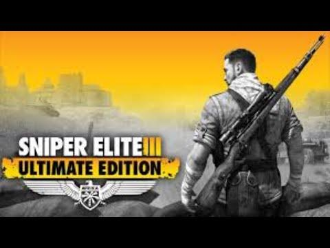 [Sniper Elite 3 ULTIMATE EDITION] [PS4 PRO] [Полное прохождение] [Часть 1]